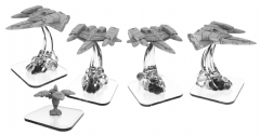 Sun Fighter and Shadow Gate: Shadow Sun Syndicate Unit (metal/resin)